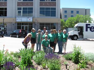 Colorado Master Gardeners pause for a photo.