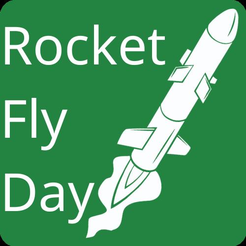 Rocket Fly Day Basic Icon