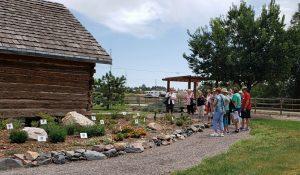 Master Gardeners provide a tour of Hidden Mesa to the public.